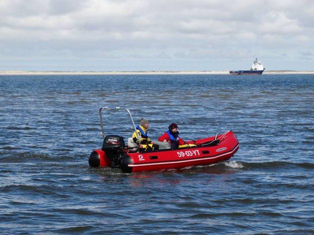 Spreker veiligheid - testen expeditieboot