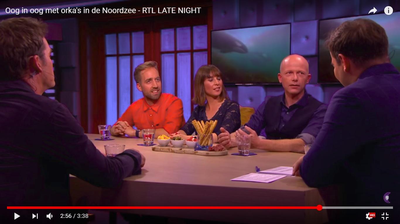 Melvin Redeker bij RTL Late Night