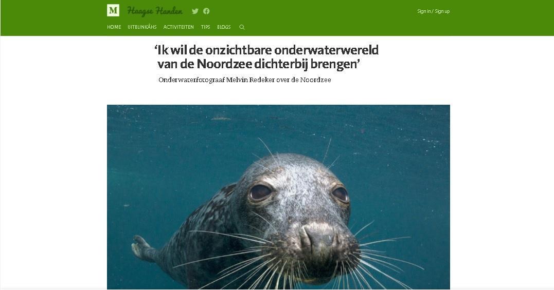 Haagse Handen: Onzichtbare onderwaterwereld dichterbij brengen
