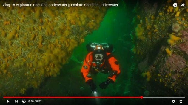 Duiken Noordzee Melvin Redeker