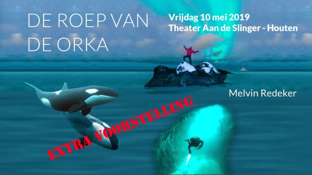 Extra voorstelling theatershow De Roep van de Orka