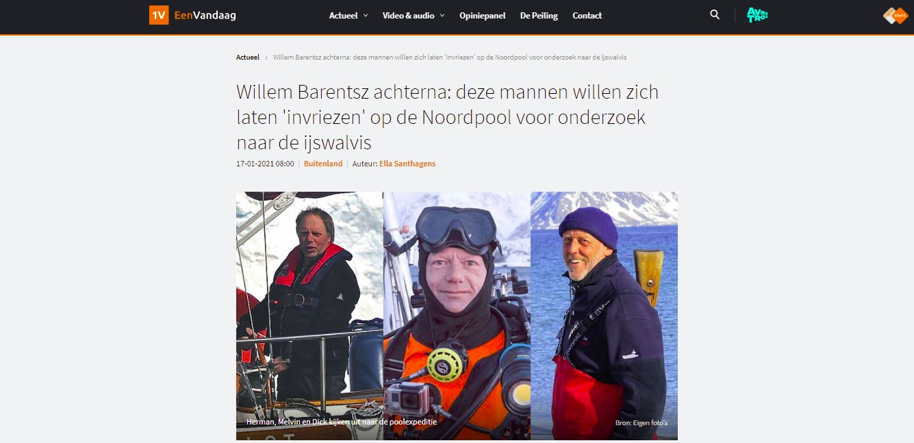 EenVandaag Icewhale