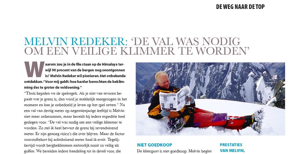 Gooisch Magazine Melvin Redeker
