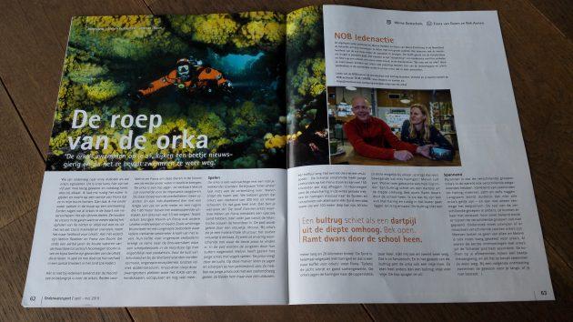 Onderwatersport: De roep van de orka