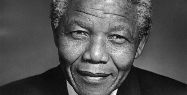 Inspirerende leider en spreker - Nelson Mandela