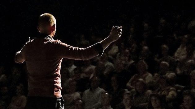 Spreker avonturier Melvin Redeker spreker met interactie en emotie