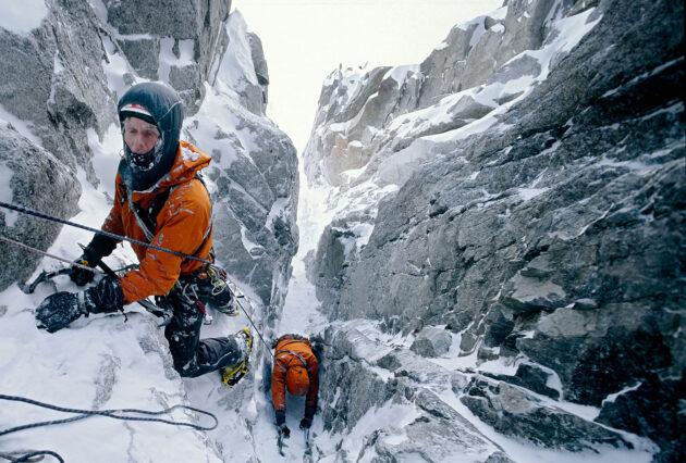 Bergbeklimmer - alpinist Melvin Redeker
