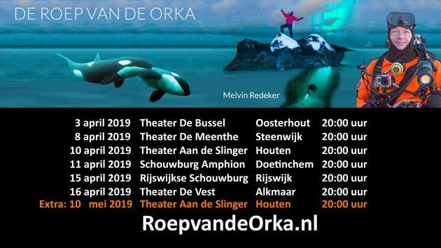 Theatertour De Roep van de Orka - Melvin Redeker