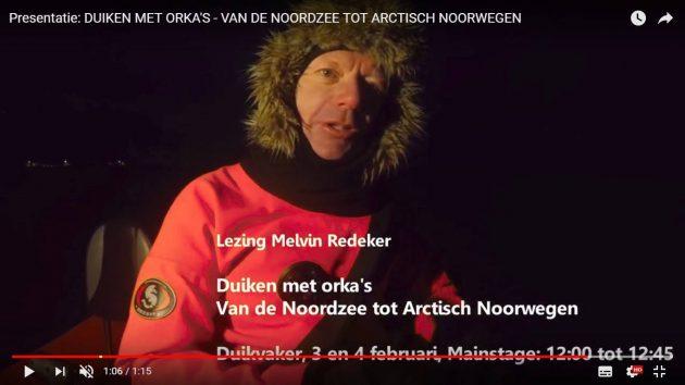 avonturier en spreker Melvin Redeker Duikvaker 17