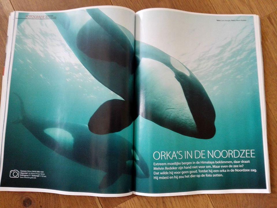 avonturier en spreker Melvin Redeker in Duiken Magazine (1)