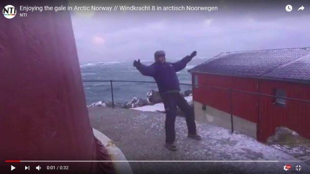 avonturier en spreker Melvin Redeker storm noorwegen