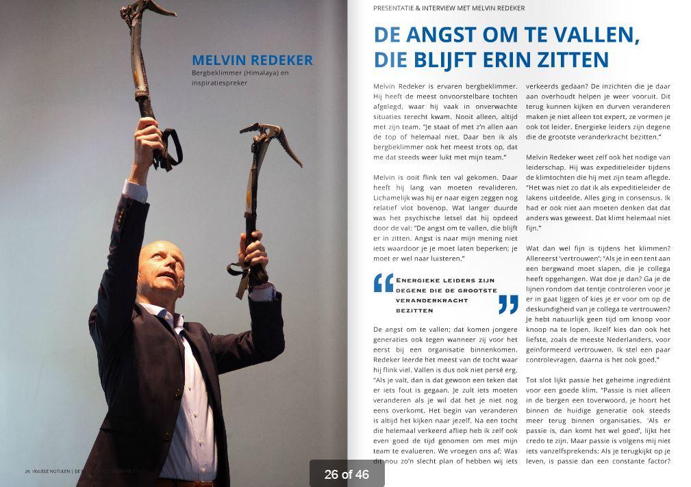 Interview met spreker en avonturier Melvin Redeker