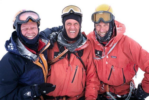 Samen op de top van Thalay Sagar in de Himalaya