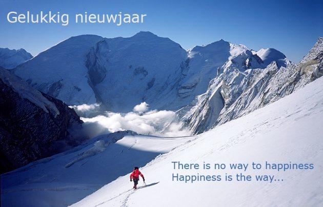 Geluk is de weg....